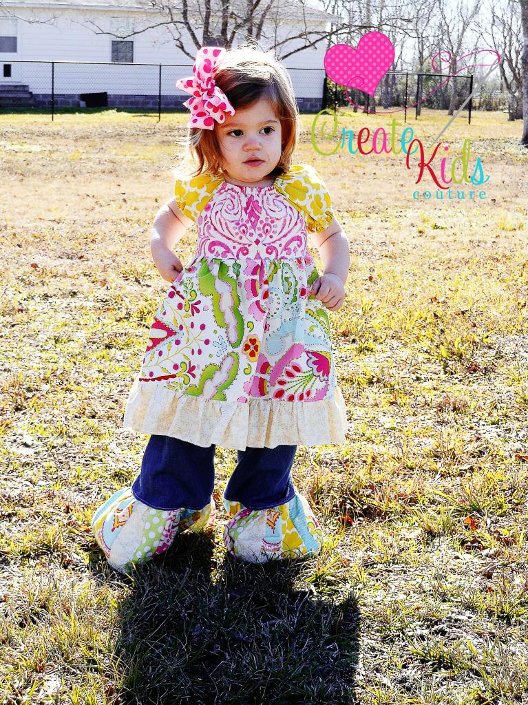 Marissa's Perfect Peasant Dress Sizes NB to 15/16 Kids PDF Pattern