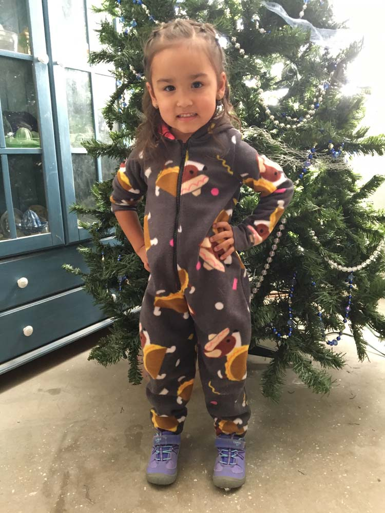 Colbie's Cozy Footed Jammies Sizes 2T to 14 Kids PDF Pattern