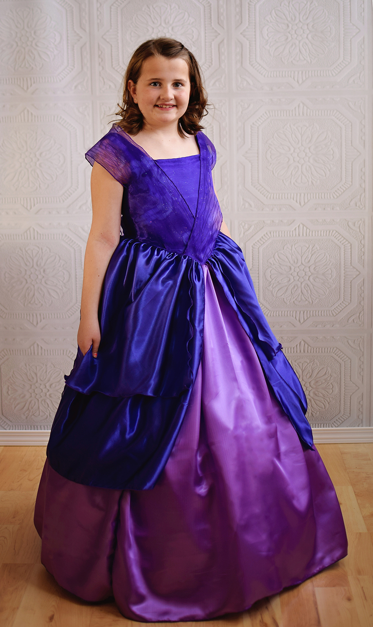 Brielle's Ball Gown Sizes 2T to 14 Kids PDF Pattern