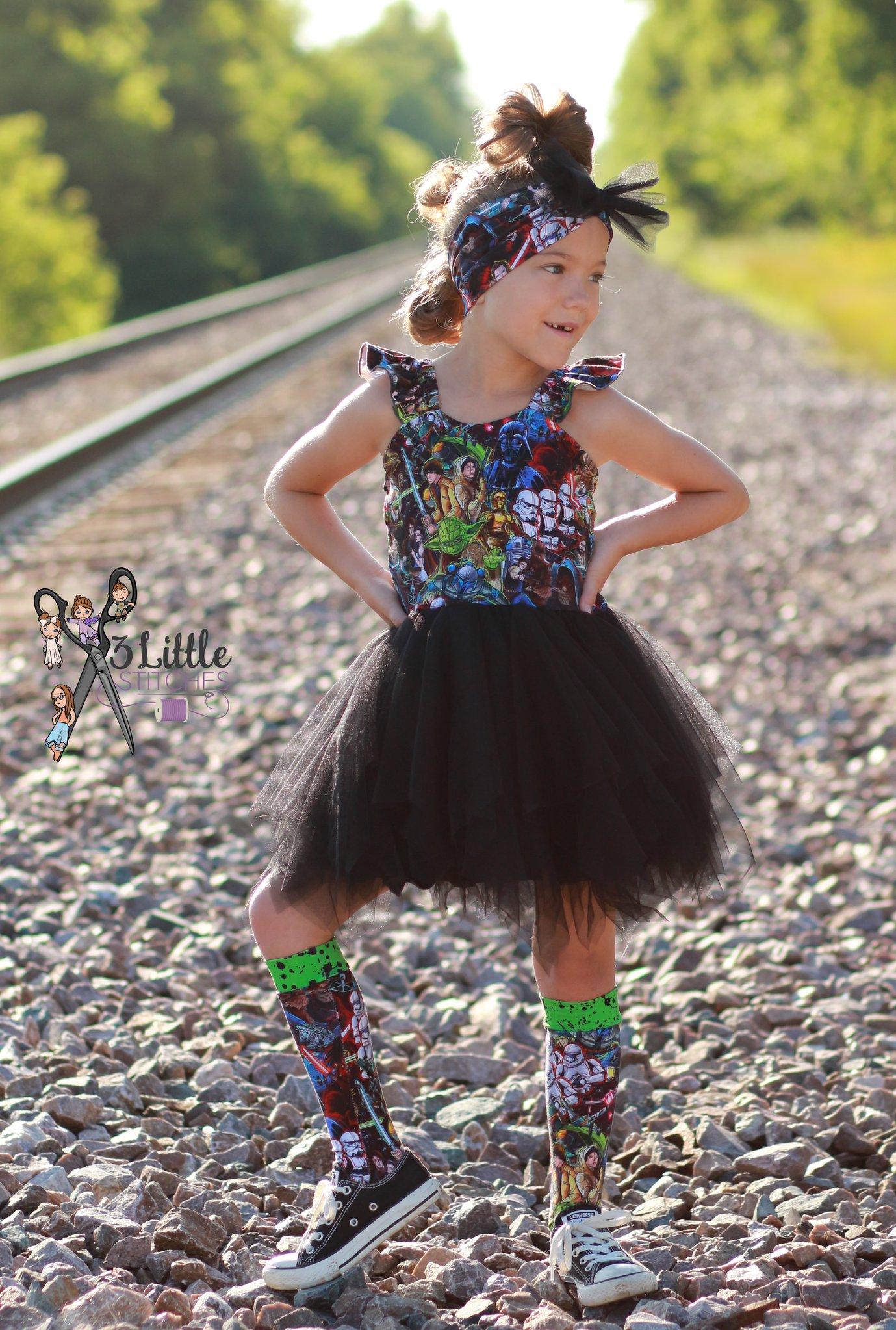 Berlin's Lace Dress Sizes NB to 14 Kids and Dolls PDF Pattern
