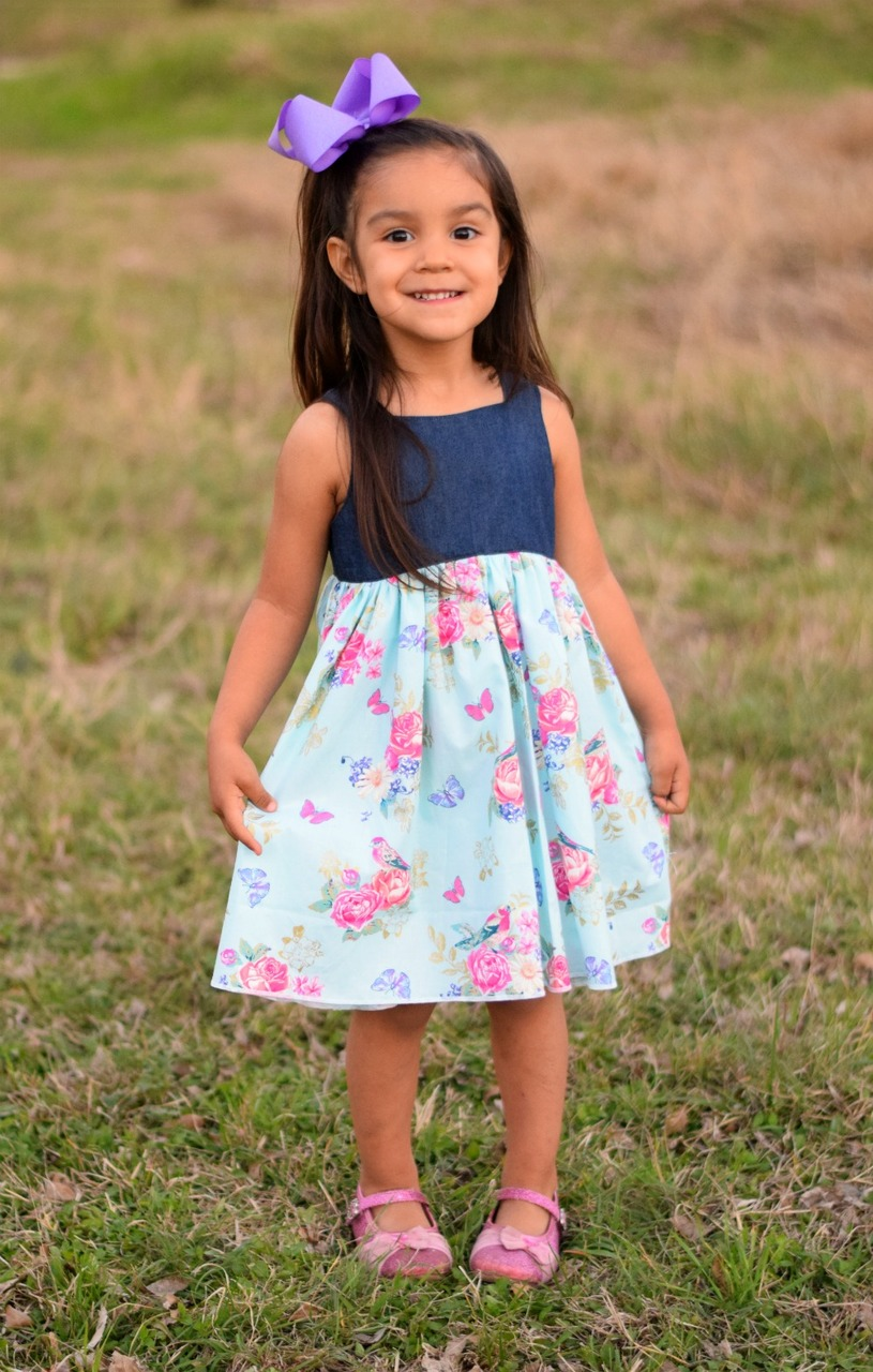 Marjorie's Top, Dress, and Maxi Sizes NB to 14 Kids PDF Pattern