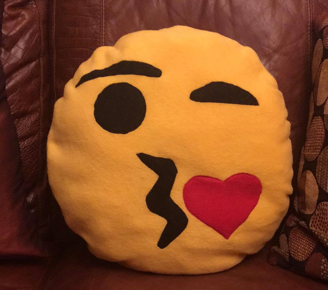 Emory's Emoji Pillow PDF Pattern