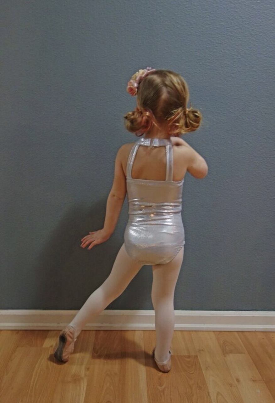 Zendaya's Sweetheart Leotard Sizes 2T to 14 Kids PDF Pattern