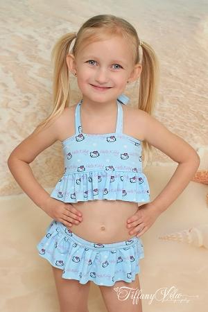 Naomi's Ruffle Bikini Sizes 2T to 15/16 Kids and Dolls PDF Pattern