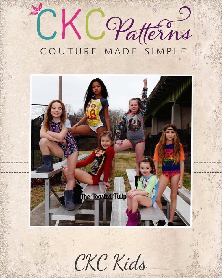 Wanda's Raglan Bodysuit Sizes NB to 14 Kids PDF Pattern