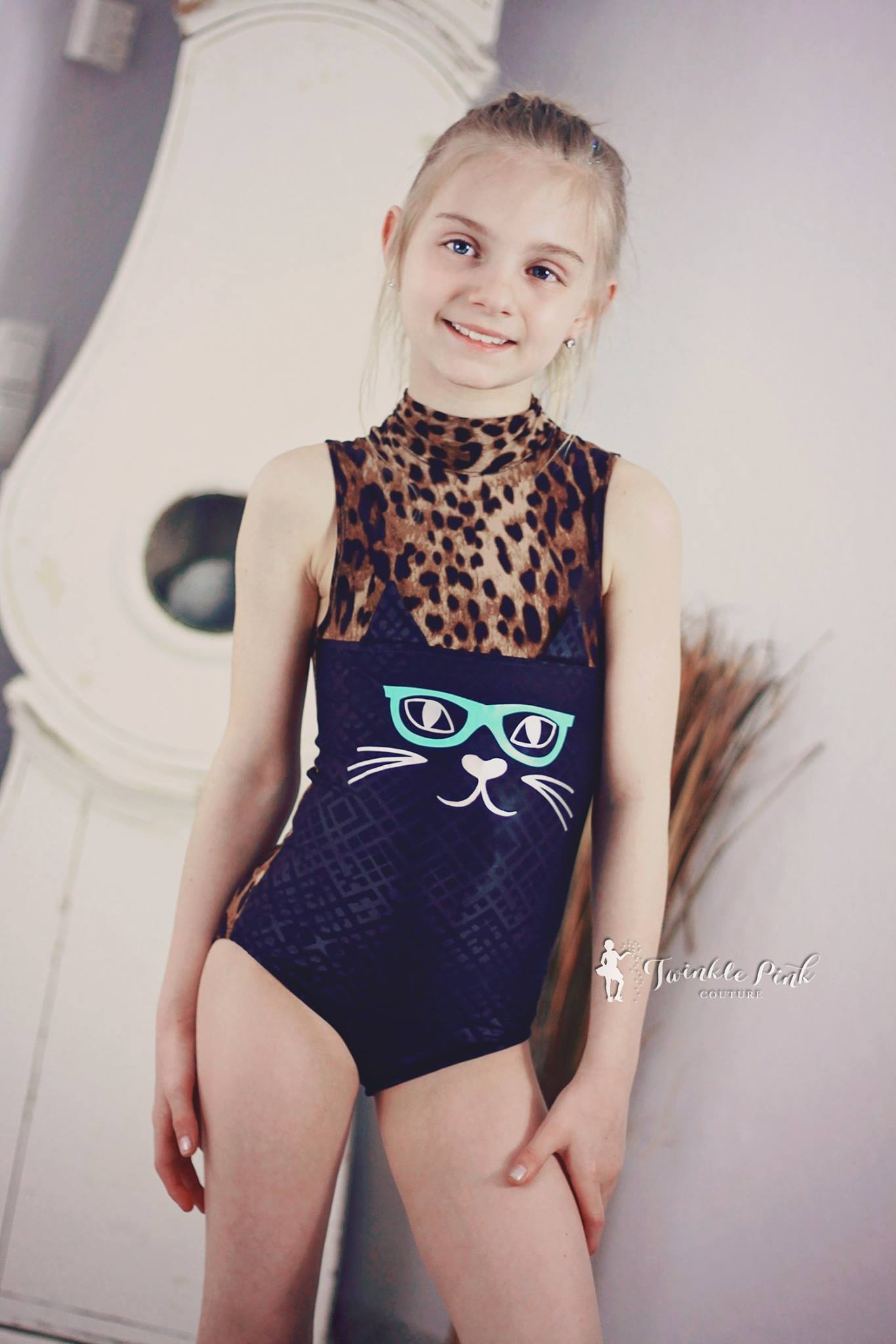 Quida's Whimsical Critter Leotard Sizes 2T to 14 Kids PDF Pattern