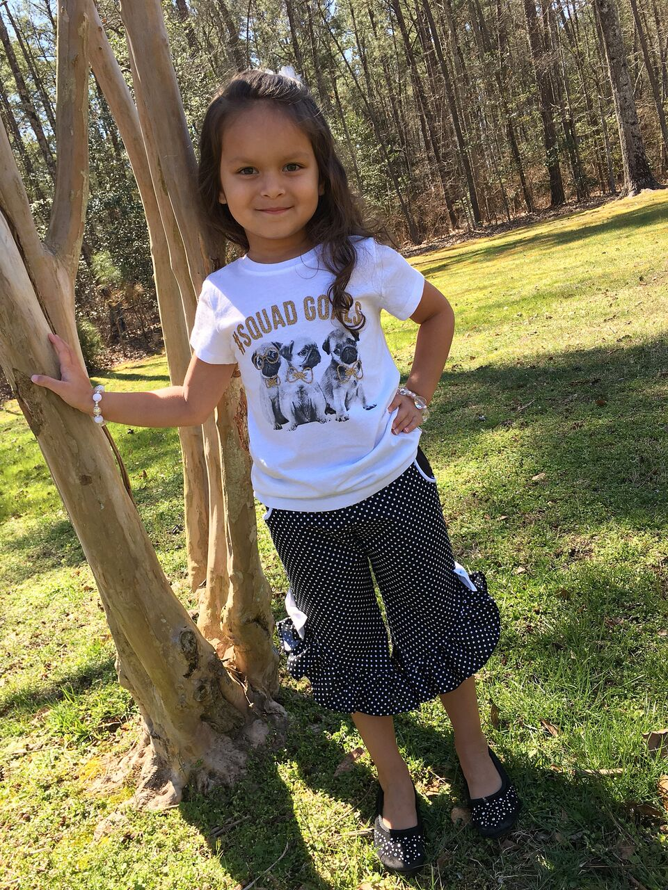 Raleigh's Ruffled Hi-Low Pants and Capris Sizes NB to 14 Kids and Dolls PDF Pattern