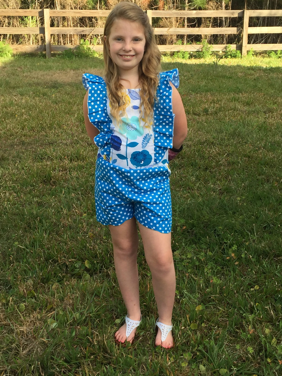 Luana's Little Romper and Top Sizes NB to 14 Kids and Dolls PDF Pattern