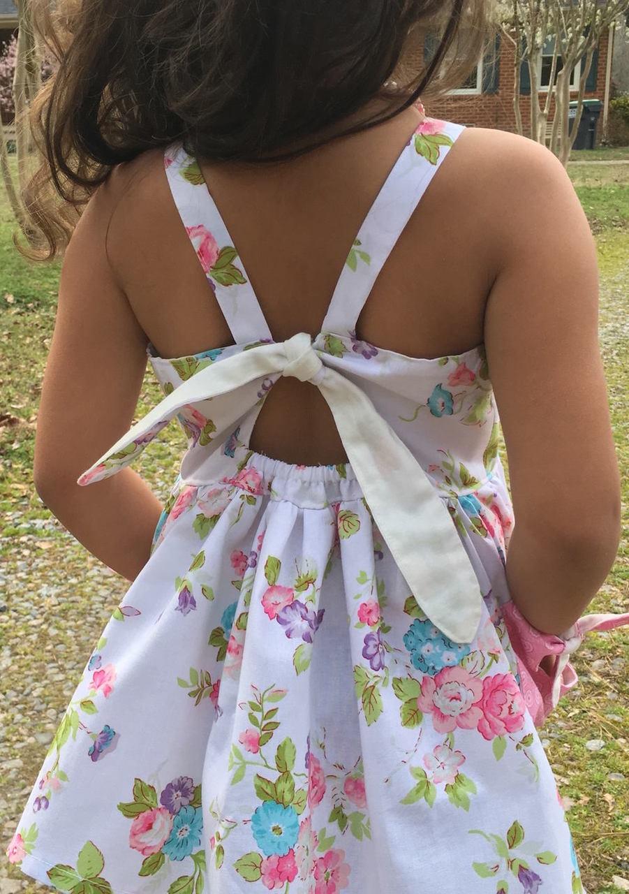 Pansy's Pocket Top and Sundress Sizes NB to 14 Kids PDF Pattern