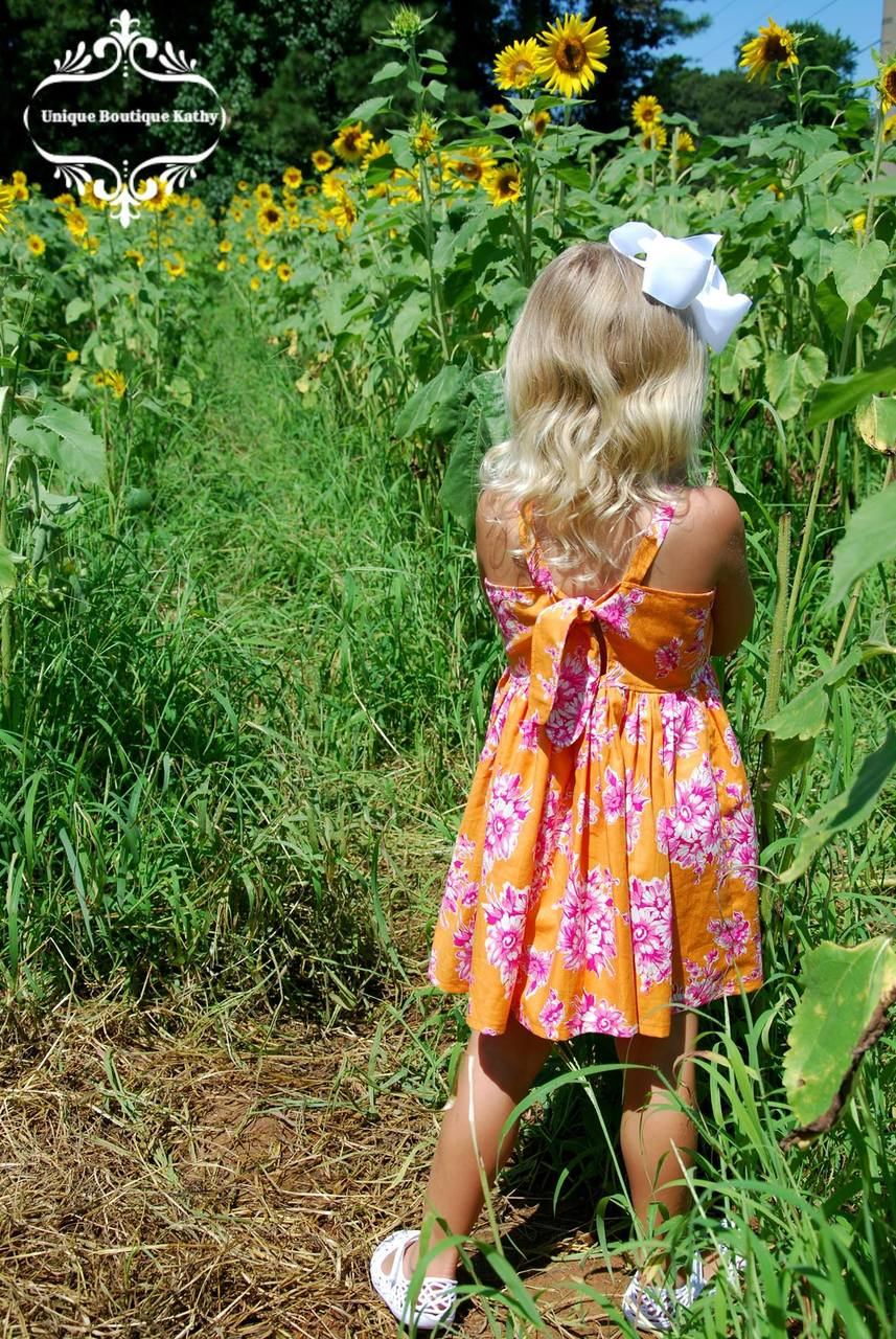 Pansy's Pocket Top and Sundress Sizes NB to 14 Kids PDF Pattern