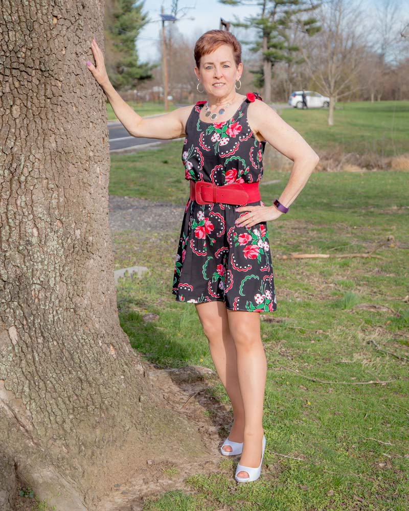 Martha's Tie-Shoulder Top and Dress Sizes XXS to 4X Adults PDF Pattern