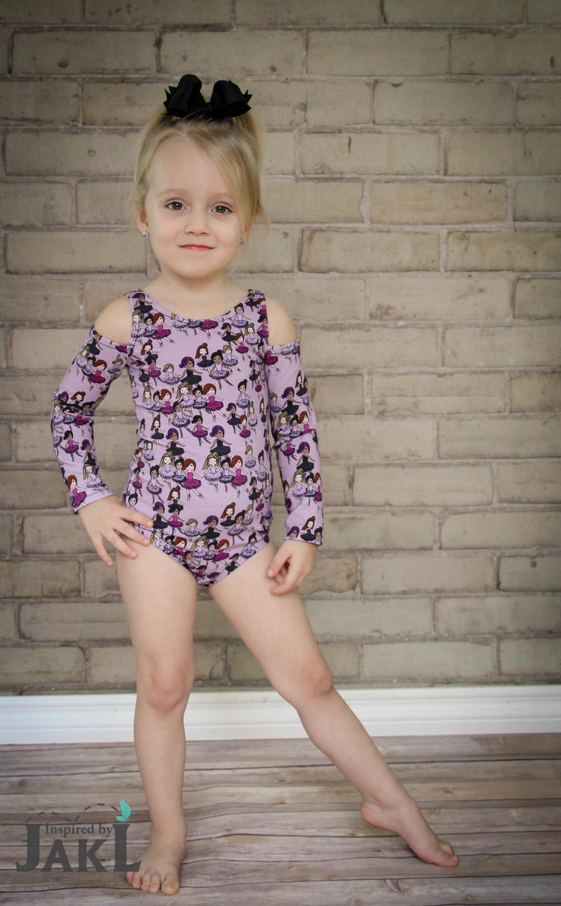 Virginia's Bodysuit and Crop Top Sizes 2T to 14 Kids PDF Pattern