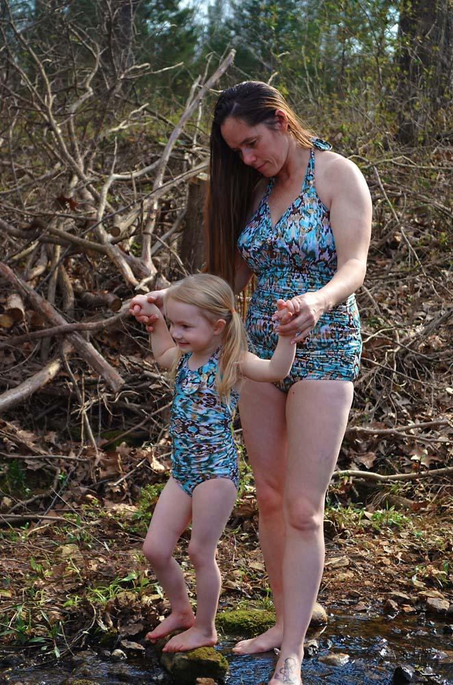 Freya's Retro One-Piece Swimsuit Sizes XXS to 3X Adults PDF Pattern