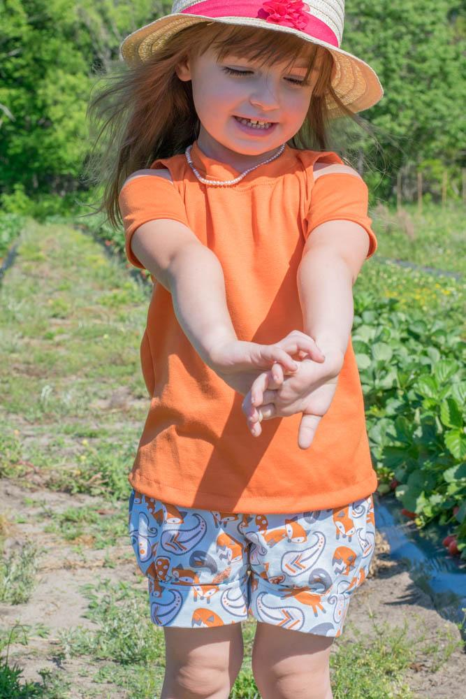 Brooke's Bubble Shorts Sizes NB to 14 Kids PDF Pattern