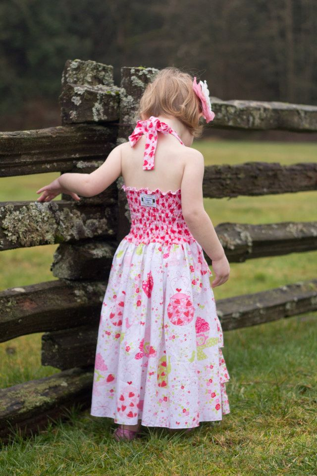 Penelope's Princess Ruffle Dress Sizes 6/12m to 8 Kids and Dolls PDF Pattern