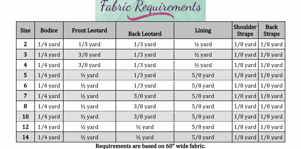 Tammy's Twisted Leotard Sizes 2T to 14 Kids PDF Pattern