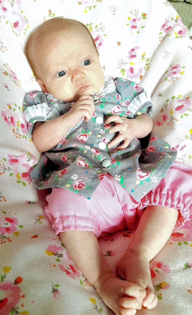 Bernadette's Top and Dress Sizes NB to 8 Kids PDF Pattern