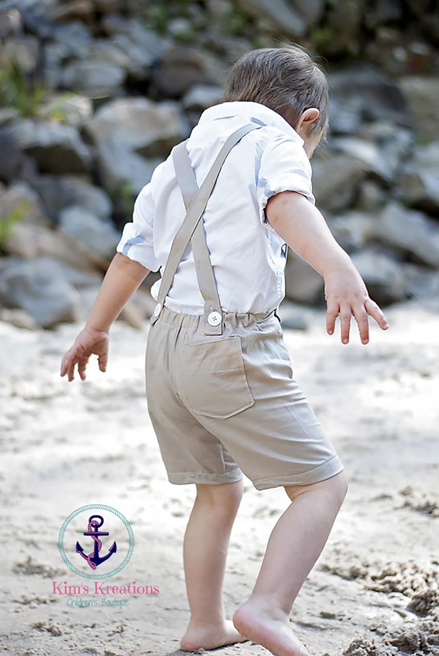 Leo's Suspender Shorts PDF Pattern