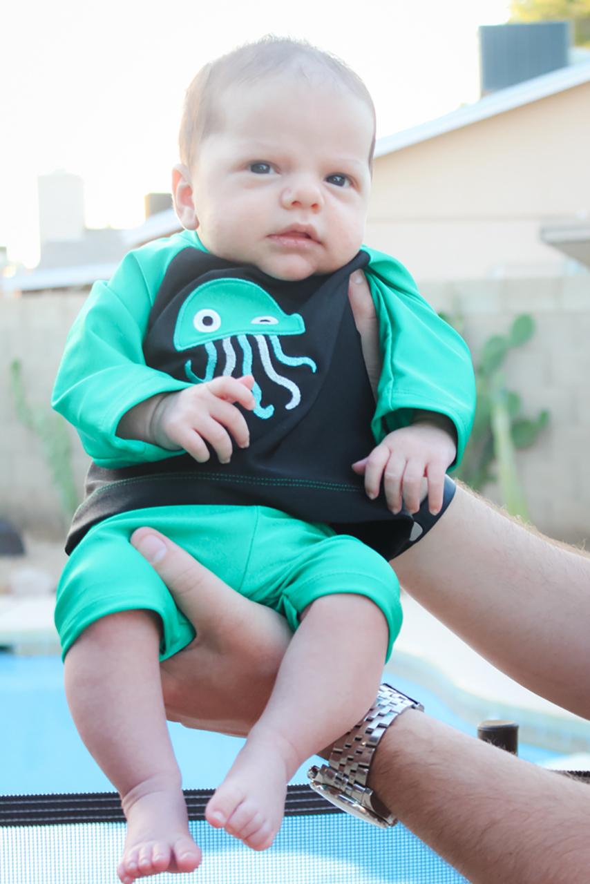 Carter's Baby Swim Set Sizes NB to 4T Kids PDF Pattern