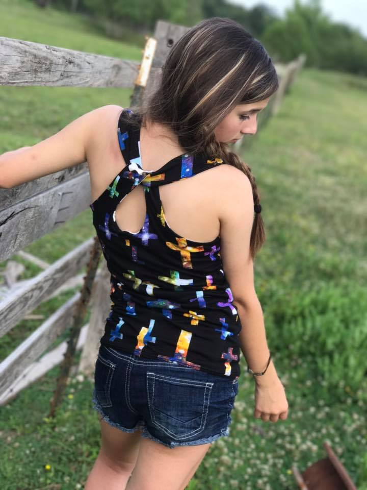Lynlee's Top, Dress and Maxi Sizes NB to 14 Kids PDF Pattern