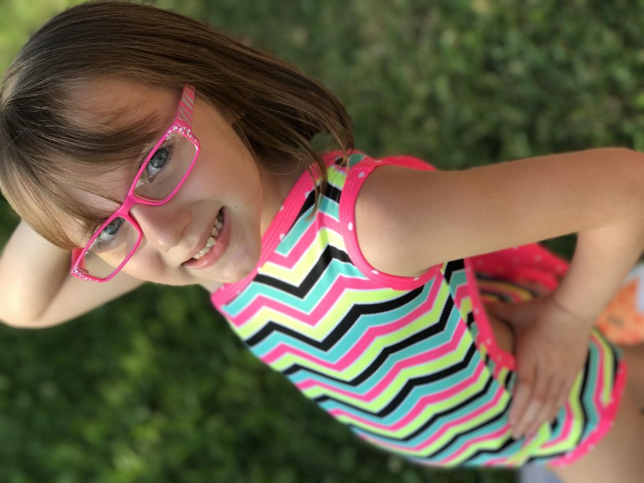 Amirah's Amazing Swimsuit Sizes 2T to 14 Kids PDF Pattern