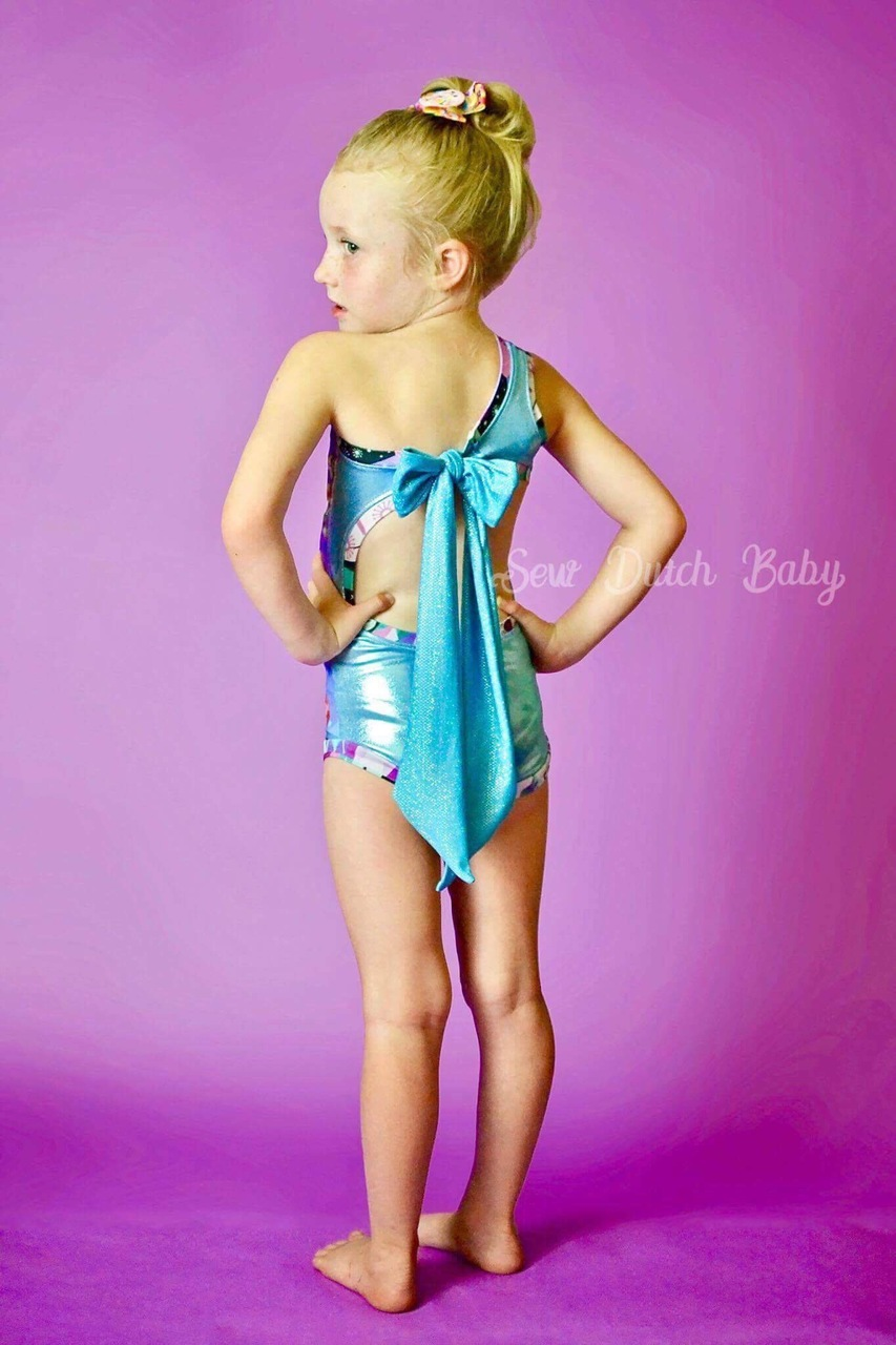 Amirah's Amazing Swimsuit Sizes 2T to 14 Kids PDF Pattern