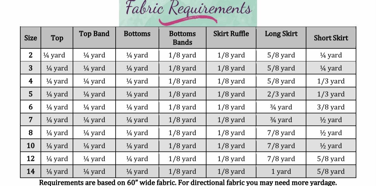 Ursula's Underwater Set Sizes 2T to 14 Kids PDF Pattern