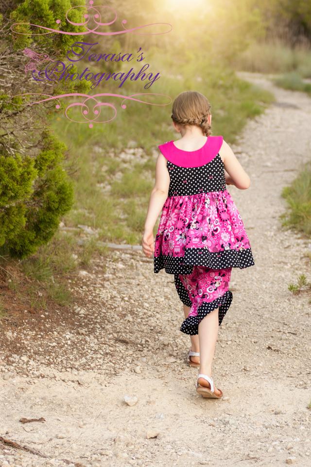 Sutton's Circle Neck Tunic & Dress Sizes 2T to 14 Kids PDF Pattern
