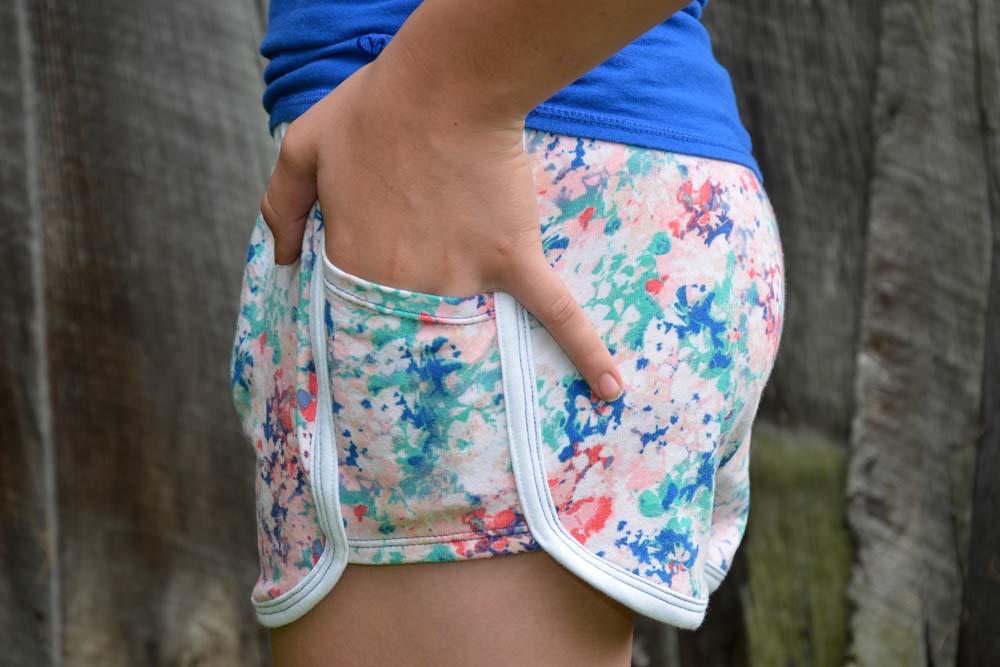 Joplin's Retro Gym Shorts Sizes XXS to 3X Adults PDF Pattern