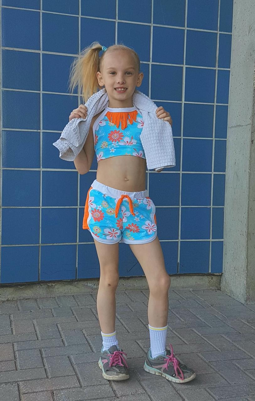Joplin's Retro Gym Shorts Sizes 2T to 14 Kids PDF Pattern
