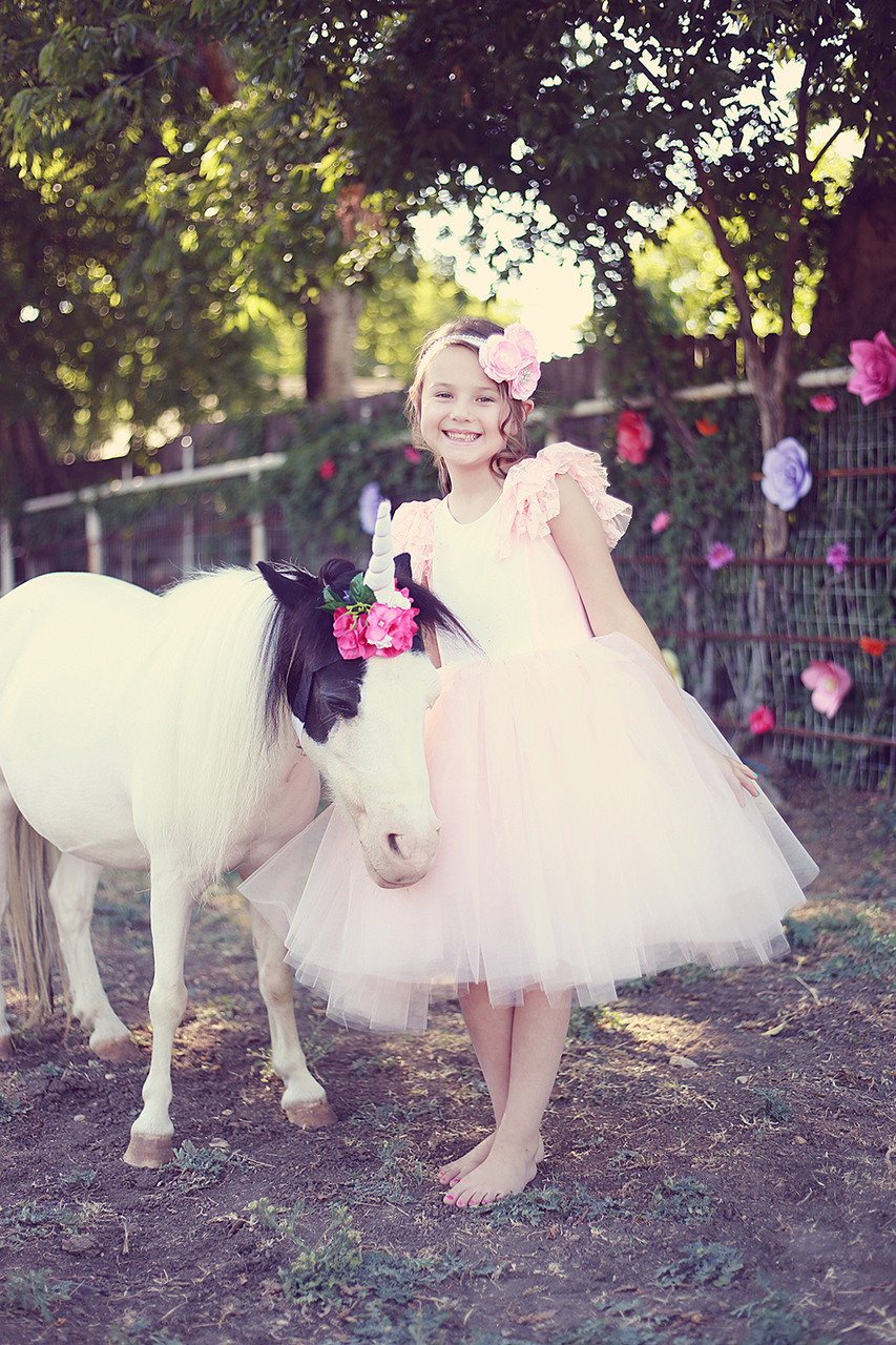 Coral's Fluffy Princess Dress Sizes 2T to 14 Kids PDF Pattern