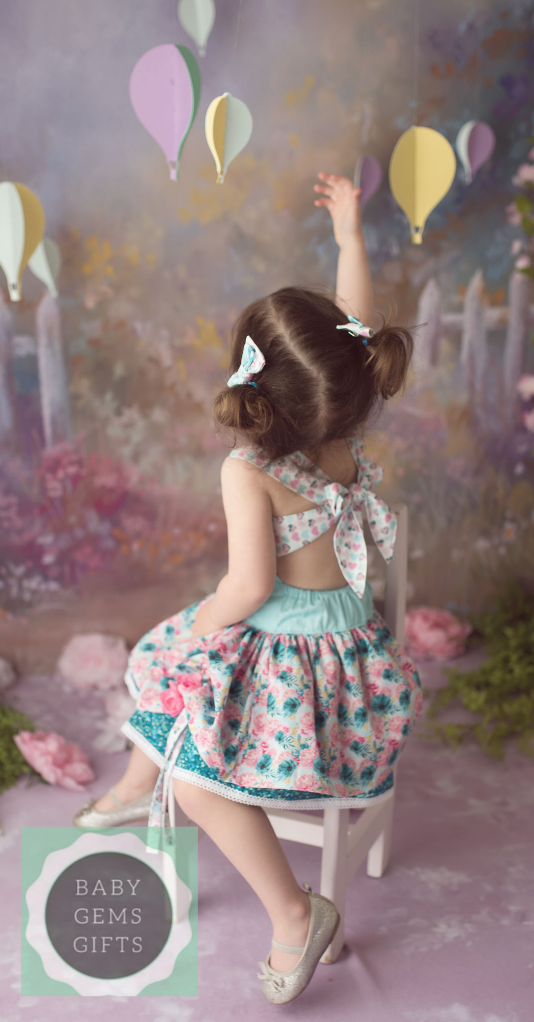Poppy's Peekaboo Dress Sizes NB to 15/16 Kids and Dolls PDF Pattern