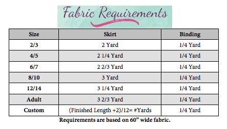 Whisper's Detachable Fun Fashion Skirt Sizes 2T to 14 Kids PDF Pattern