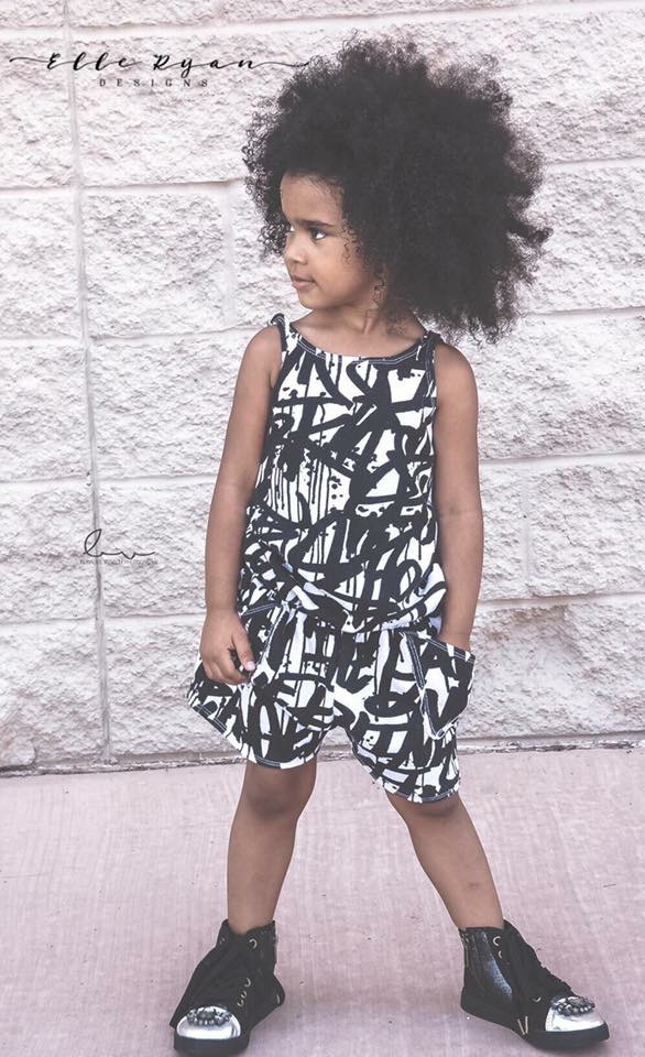 Hedwig's Hip-Hop Romper Sizes 2T to 14 Kids PDF Pattern