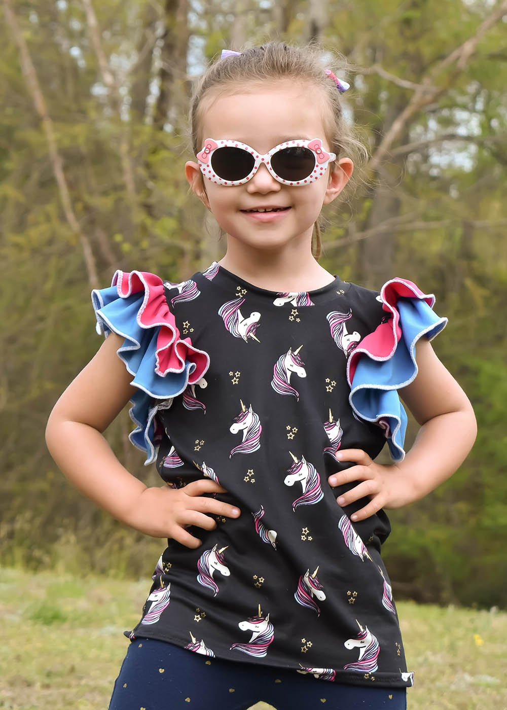 Independence's Icing Sleeveless Top Sizes 2T to 14 Kids PDF Pattern