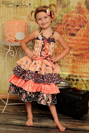 Primrose's Ruffled Corset Princess Dress PDF Pattern