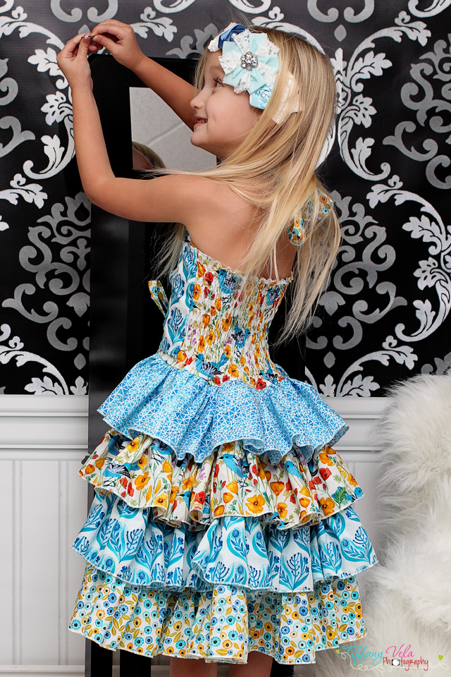 Primrose's Ruffled Corset Princess Dress PDF Pattern