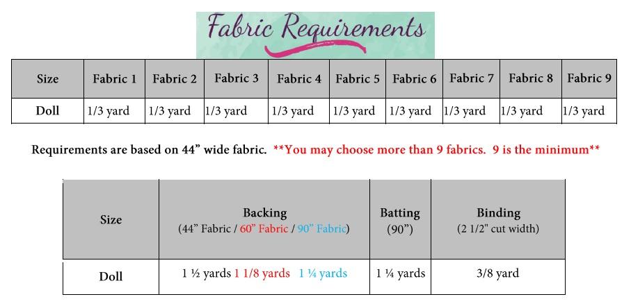 Nicola's Nine-Patch Doll Quilt Top PDF Pattern