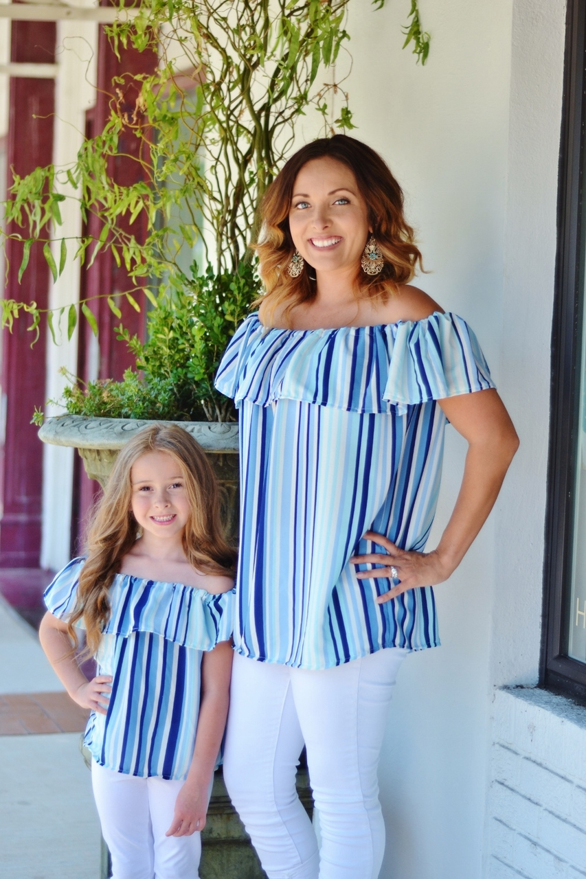 Marina's Ruffle Crop, Top, Dress and Maxi Sizes 2T to 14 Kids PDF Pattern