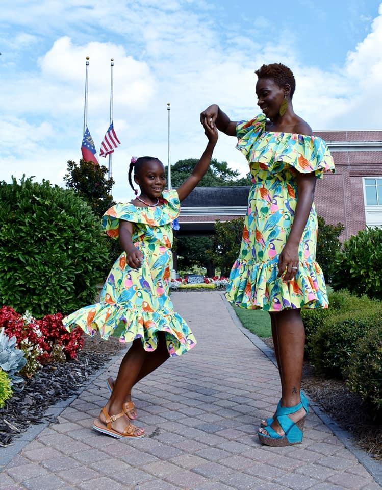 Marina's Ruffle Crop, Top, Dress and Maxi Sizes 2T to 14 Kids PDF Pattern