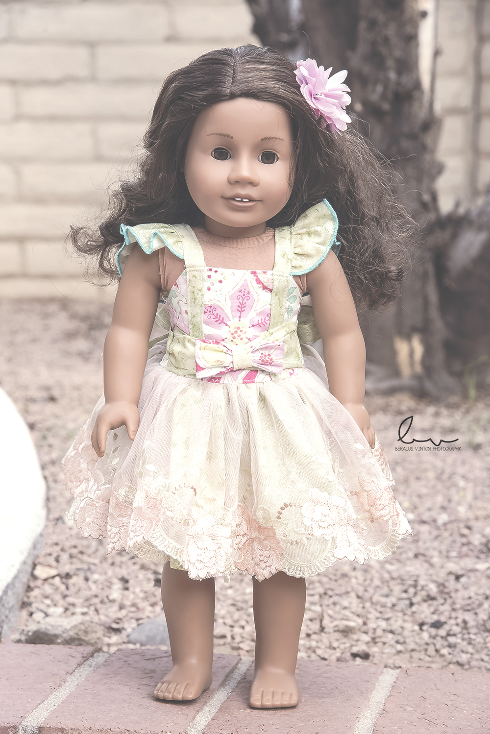 Tayana's Tulle Dress Sizes NB to 14 Kids and Dolls PDF Pattern