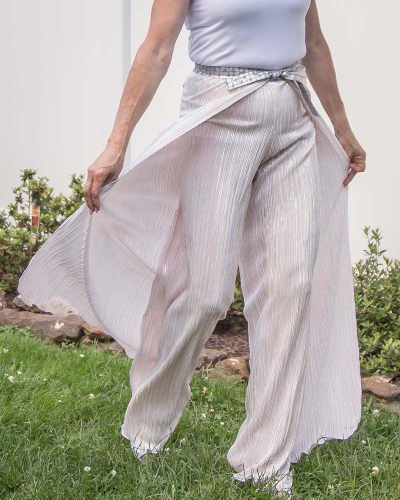 Willa's Wrap Shorts, Capris, and Pants Sizes XXS to 3X Adults PDF Pattern