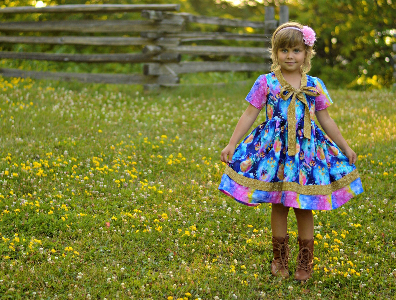 Talia's Tie Dress & Top Sizes 2T to 14 Kids PDF Pattern