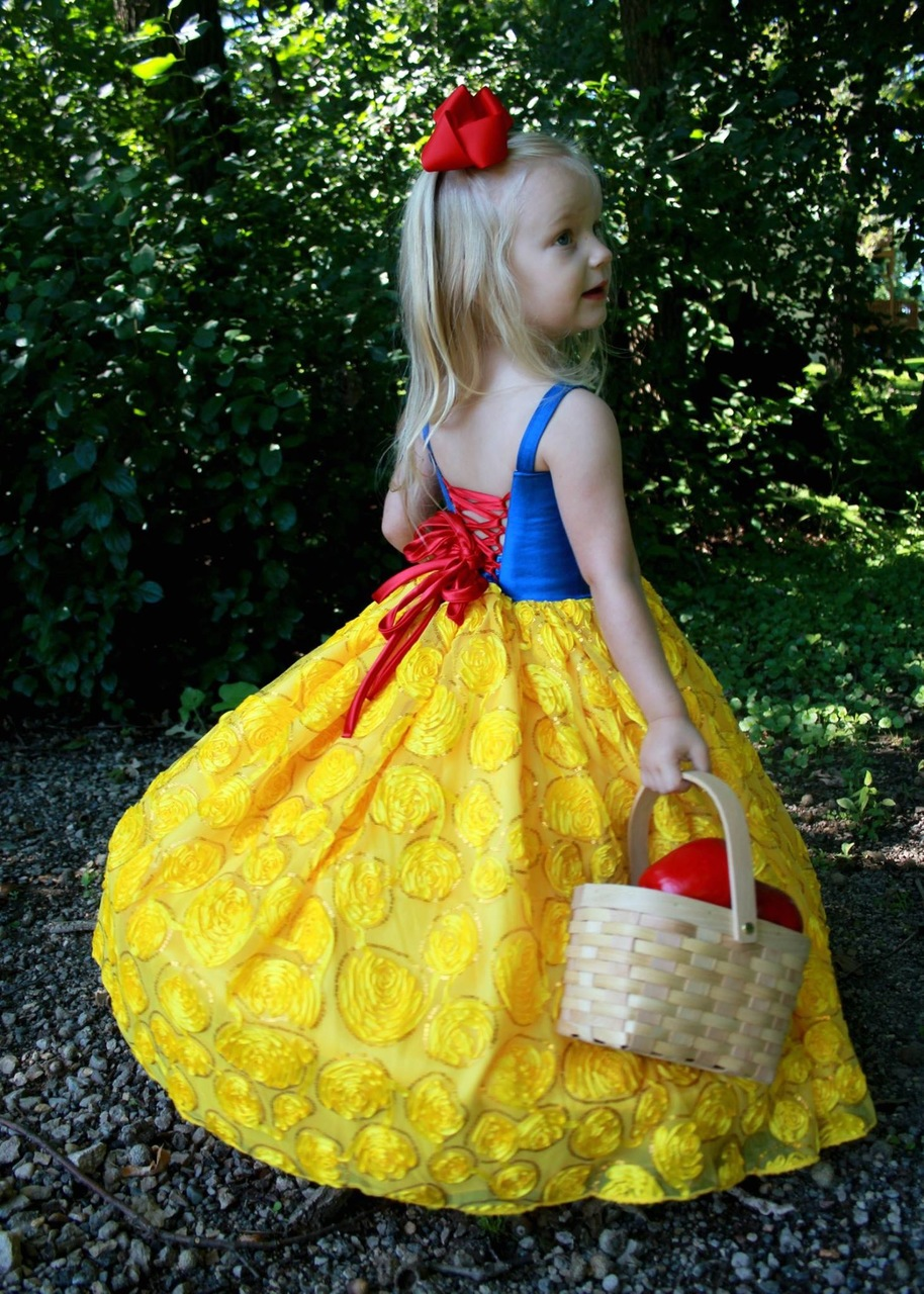 Vale's Corset Gown Sizes 2T to 14 Kids PDF Pattern