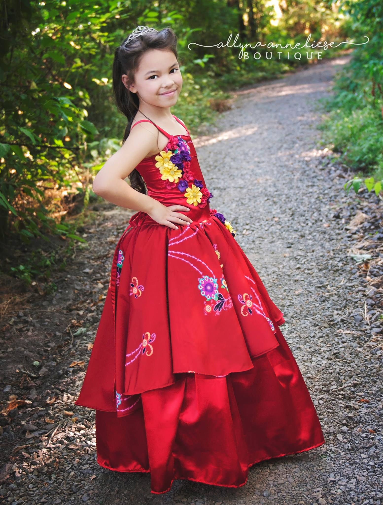 Vale's Corset Gown Sizes 2T to 14 Kids and Dolls PDF Pattern