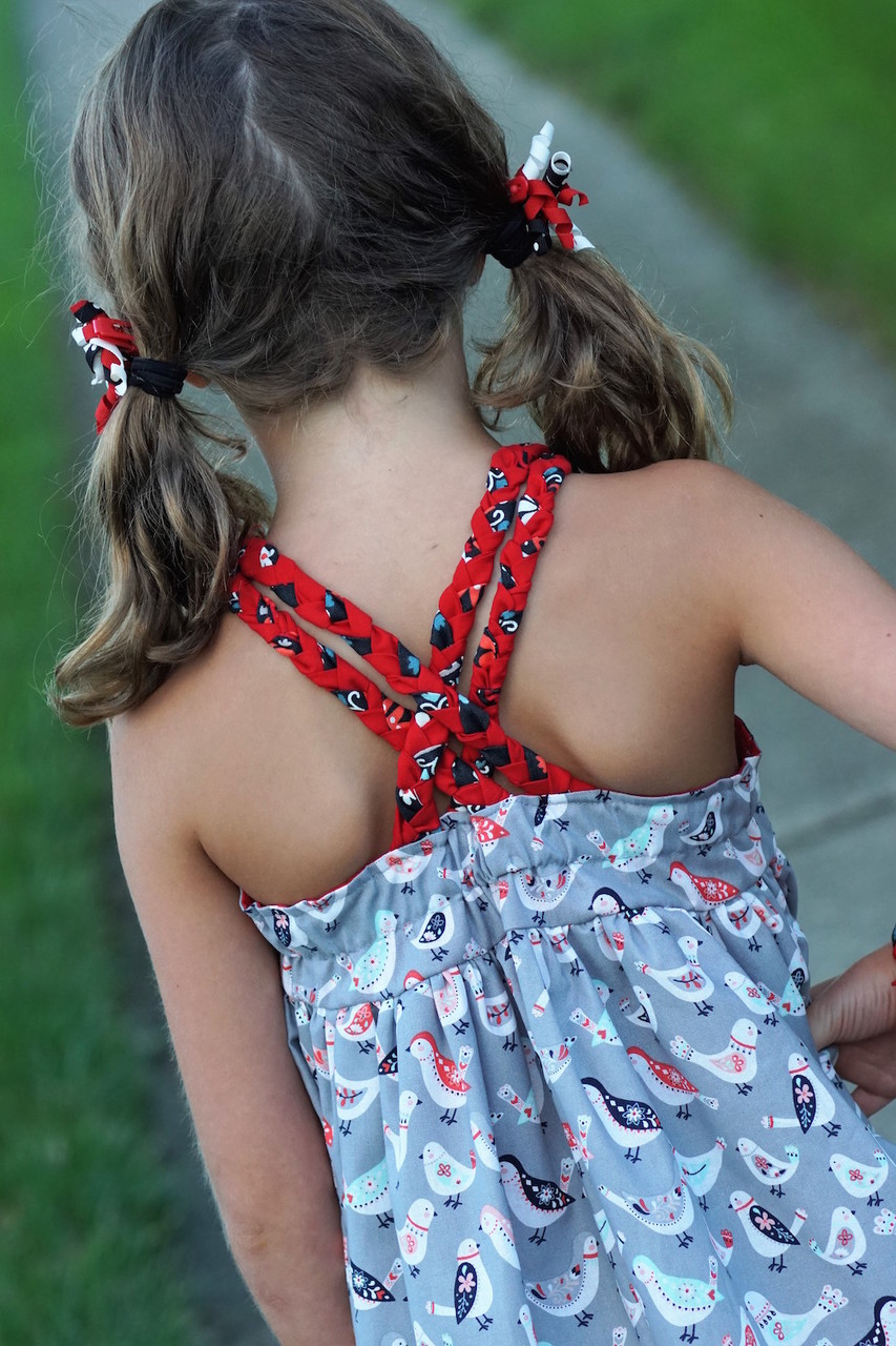 Bay's Braided Back Sundress Sizes 2T to 14 Kids PDF Pattern