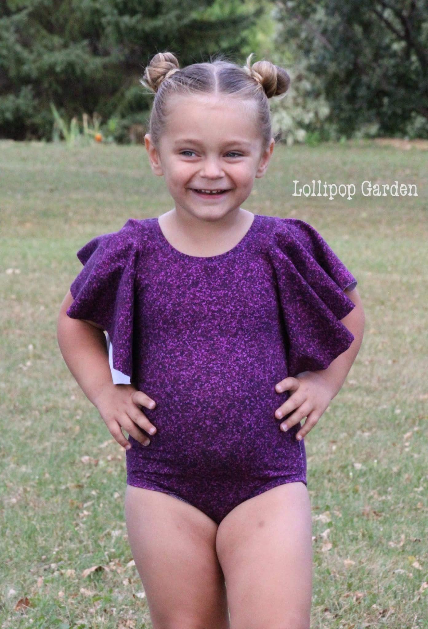 Glady's Graceful Leotard Sizes 2T to 14 Kids PDF Pattern