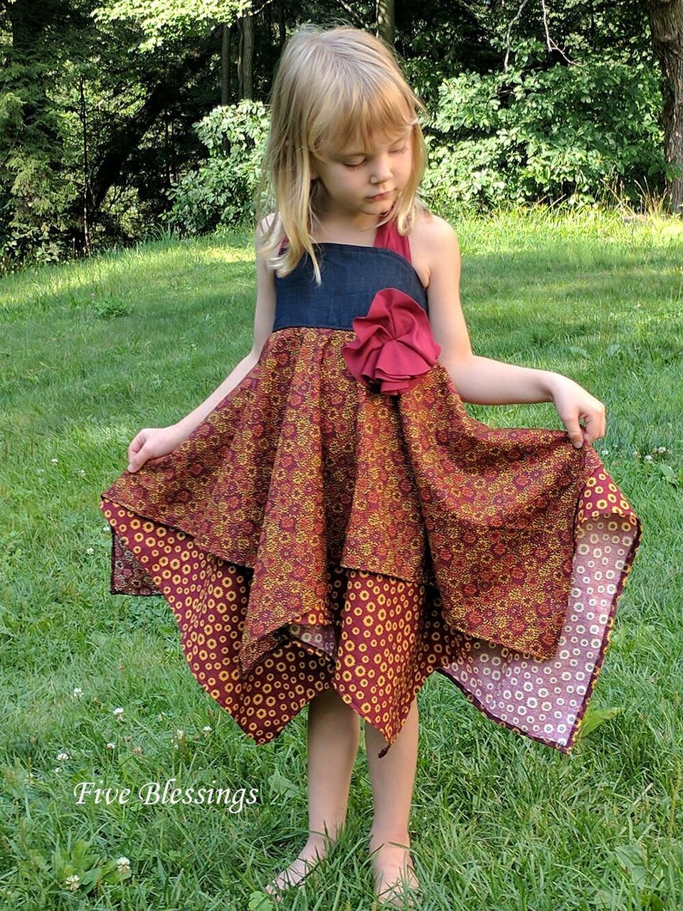 Effy's Tunic, Dress, and Romper Sizes NB to 14 Kids PDF Pattern