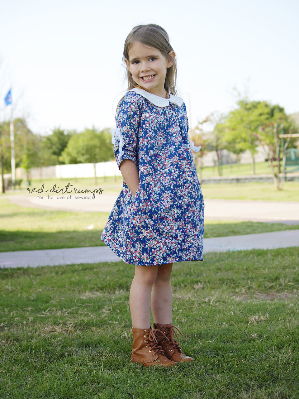 Portlyn's Front Pleat Top & Dress Sizes NB to 14 Kids PDF Pattern