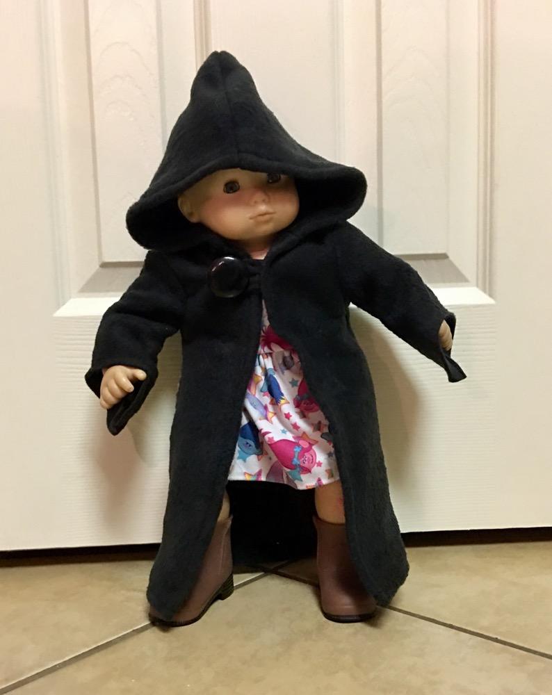 Malcolm's Character Robe Dolls Sizes PDF Pattern